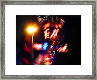 Spin Two Framed Print by Charles Stuart