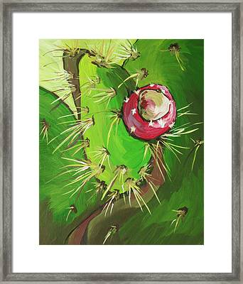 Spines Framed Print by Sandy Tracey