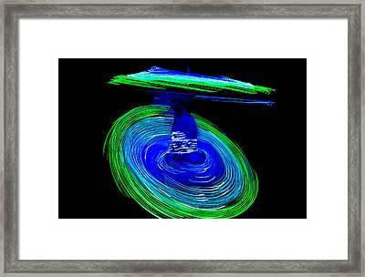 Spinning Life Framed Print by Shashi Kumar