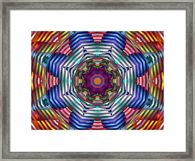 Spinning Wheels Framed Print by Mario Carini