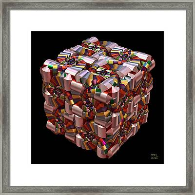 Spiral Box I Framed Print