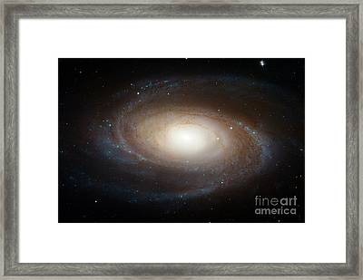 Spiral Galaxy M81 Framed Print by Nasa