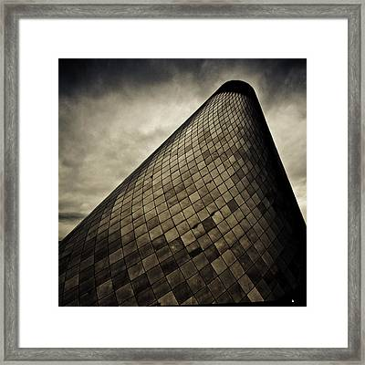 Spiral In The Storm Framed Print by Tony Locke