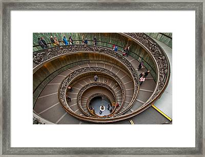 Spiral Ramp Framed Print