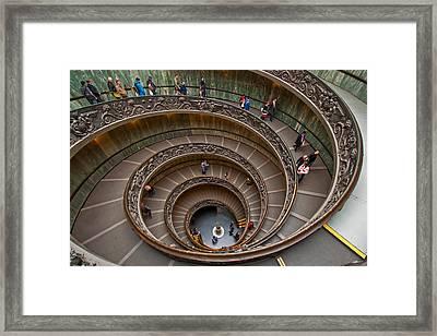 Spiral Ramp Framed Print