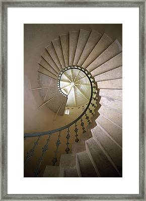 Spiral Stairs - Krakow Framed Print by Martin Cameron