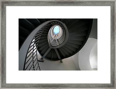 Spiral Steps Framed Print by Arie Arik Chen