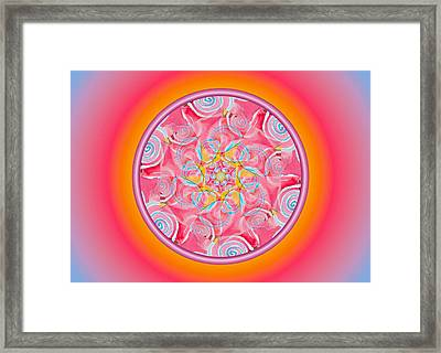 Spirit Dance Framed Print by Linda Pope