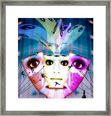 Spirit Fountain Framed Print by Jenn Bodro