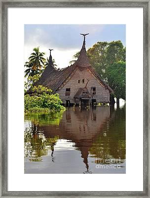 Spirit House Framed Print by Anne Gordon