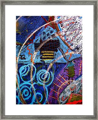 Framed Print featuring the mixed media Spirit House by Clarity Artists