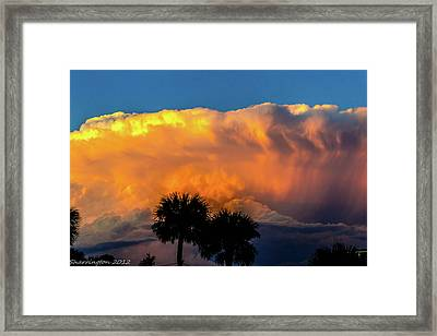 Spirit In The Clouds Framed Print by Shannon Harrington