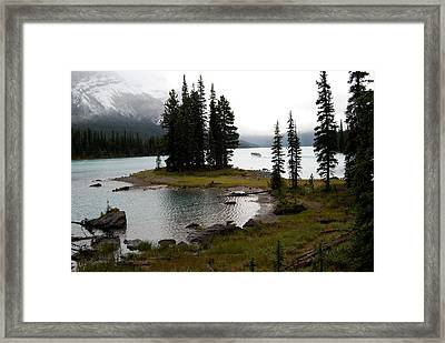 Spirit Island Framed Print by Harvey Barrison