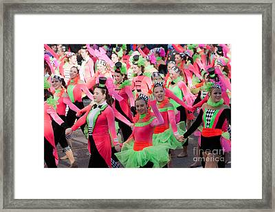 Spirit Of America Dance Team I Framed Print by Clarence Holmes