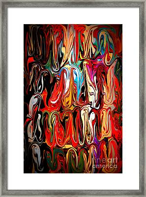 Spirit Of Mardi Gras Framed Print