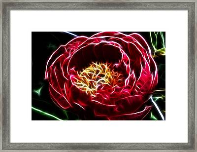 Spirit Of The Flower Framed Print