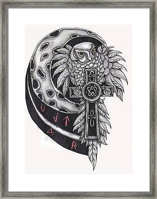 Spirit Of The North Framed Print by Ramona Hartley
