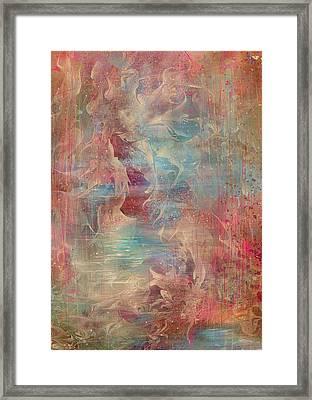 Spirit Of The Waters Framed Print by Rachel Christine Nowicki