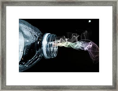 Framed Print featuring the photograph Spirit Of Thirst by Ester  Rogers
