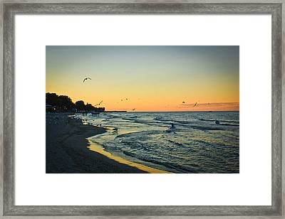 Spirit's Journey Framed Print by Sara Frank