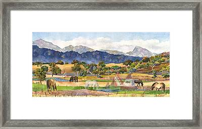 Spirits Of The Ancestors Framed Print by Anne Gifford
