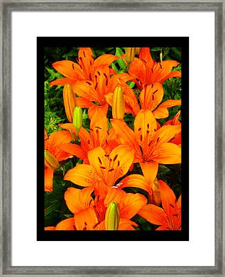 Framed Print featuring the photograph Spiritual Bouquets At St. Francis Cathedral by Susanne Still