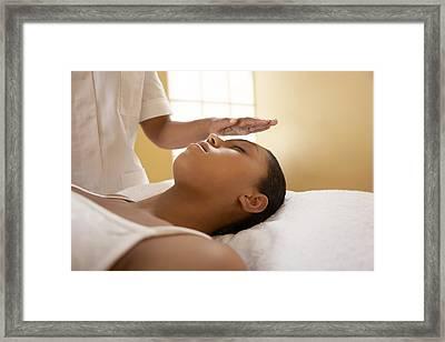 Spiritual Healing Framed Print by Adam Gault