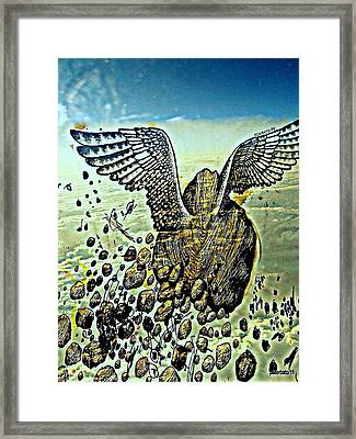 Spiritual Imperfection Of Human Beings Framed Print