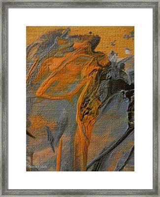 Spiritual Travelers Framed Print by Marina R Raimondo
