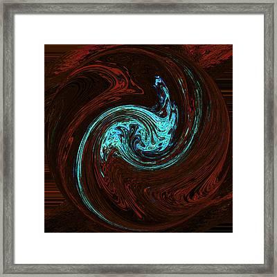 Spiritual Wakes Framed Print by James Mancini Heath