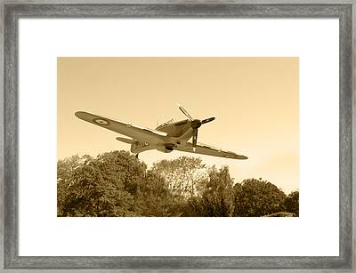 Spitfire Framed Print by Chris Day
