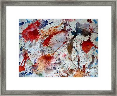 Splash Framed Print by Bill Davis