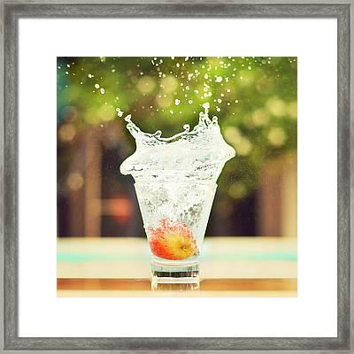 Splash! Framed Print by Elvira Boix Photography