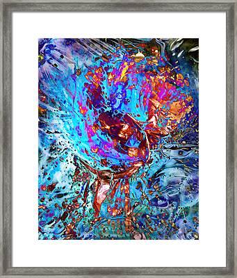 Splash Framed Print by Francesa Miller