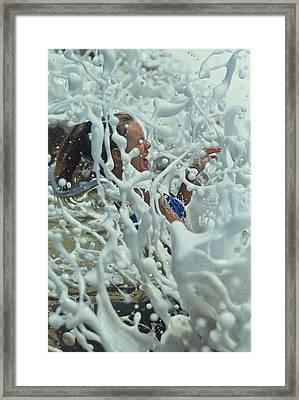 Splash Girl Framed Print