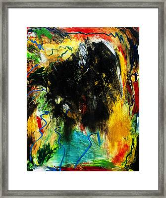 Splat Framed Print by Terrance Prysiazniuk