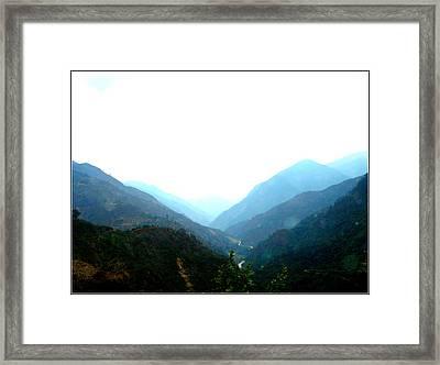 Splendors Of Himalayas-2 Framed Print by Anand Swaroop Manchiraju