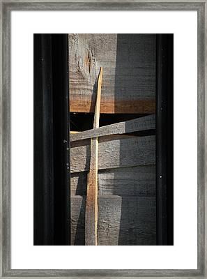 Splinter Framed Print by Dickon Thompson