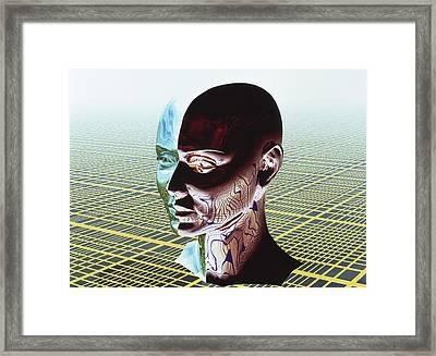 Split Personality Framed Print by Laguna Design