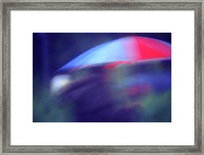 Splush Framed Print by Richard Piper