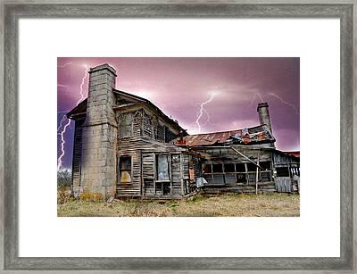 Spooky Framed Print by Marty Koch