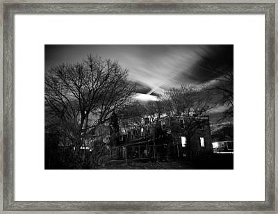Spooky Night Framed Print by Ken Stachnik