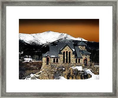 Spooky Saint Malo  Framed Print