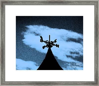 Spooky Silhouette Framed Print