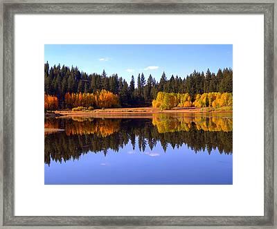 Spooner Autumn Framed Print