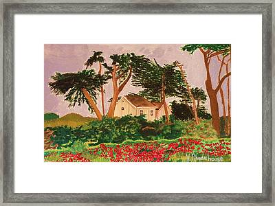 Spooner's Cove Framed Print
