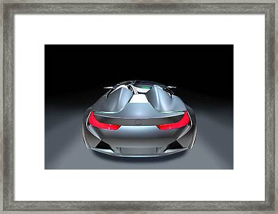 Sport Car Bmw Framed Print