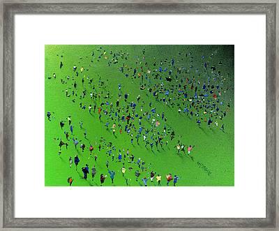 Sports Day Framed Print by Neil McBride