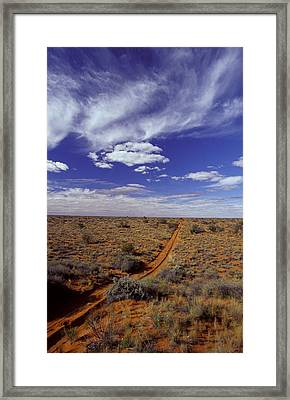 Sports Utility Vehicle Parallel Wheel Framed Print