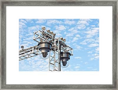 Spot Lights Framed Print by Tom Gowanlock